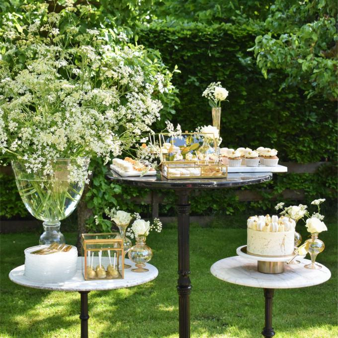 Sweet Table White & Gold