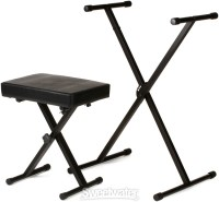 On-Stage Stands KPK6500 Keyboard Stand and Bench Pack ...