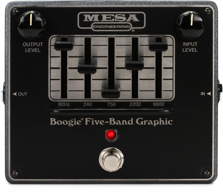 MesaBoogie Boogie FiveBand Graphic EQ  Sweetwatercom