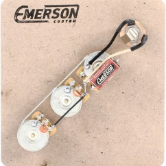 Fender N3 Pickup Wiring Diagram Chevy Hot Rod Emerson Custom Prewired Kit For Jazz Bass | Sweetwater.com