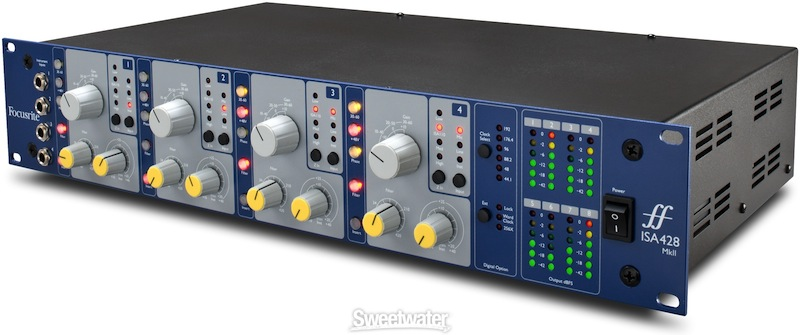 Focusrite ISA 428 mic pre-amp