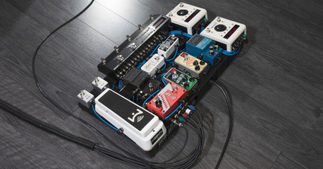 guitar pedalboard wiring diagram 2 gang 1 way light switch uk cable management for pedalboards sweetwater plan the layout