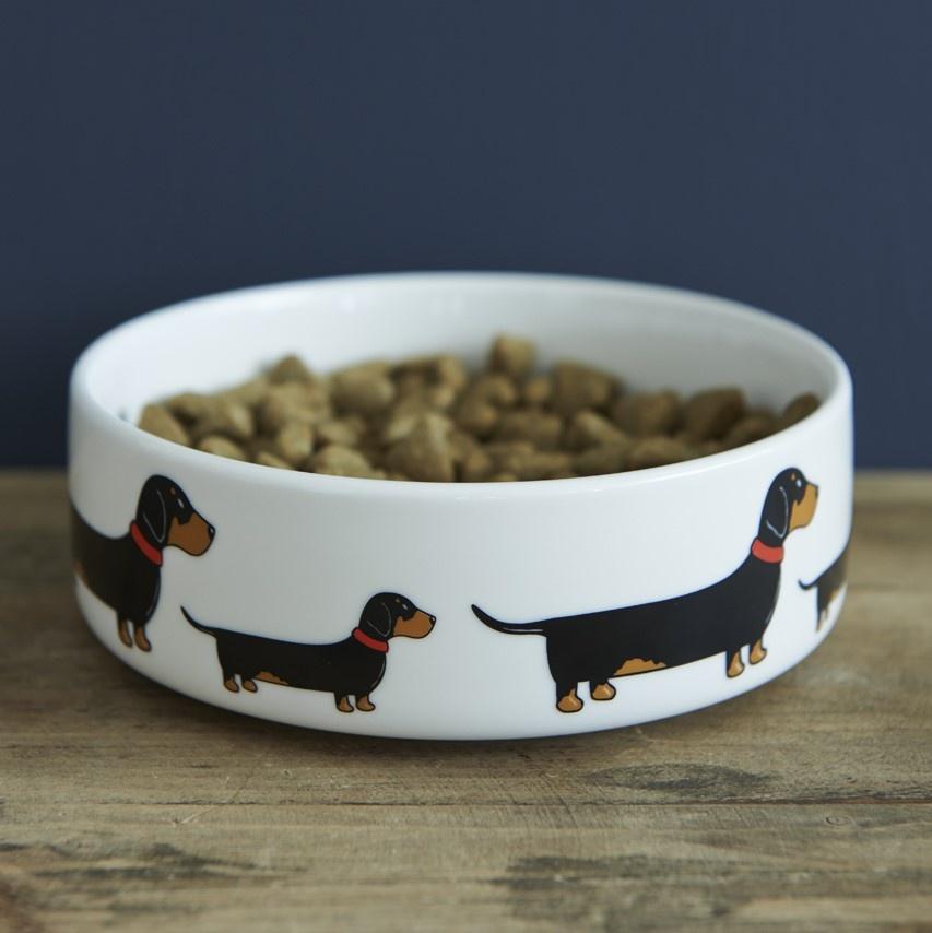 Dachshund Dog Bowl 163 20 95 Mischievous Mutts Dog Bowls