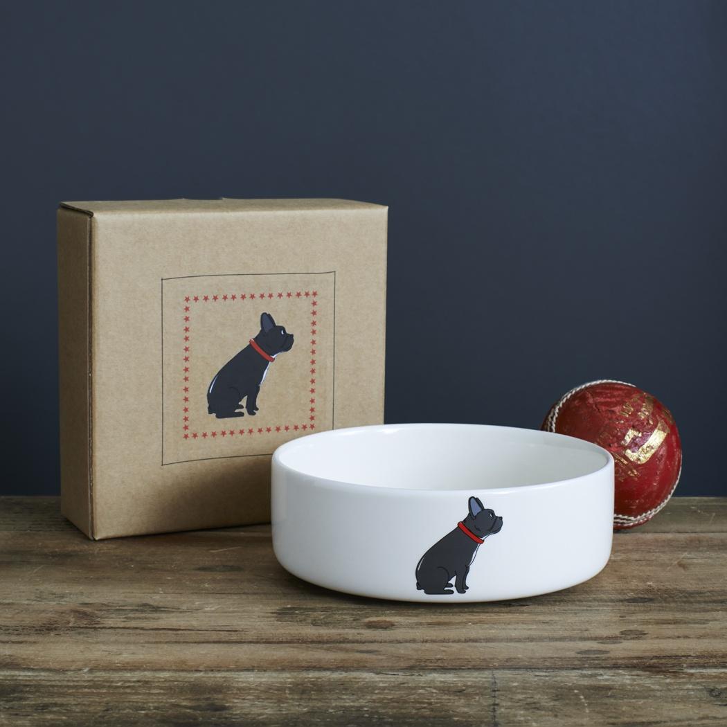 French Bulldog Bowl 163 20 95 Mischievous Mutts Dog Bowls