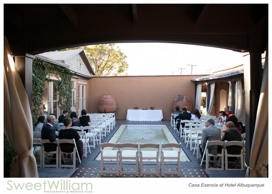 Casa Esencia at Hotel Albuquerque Wedding  Sweet William