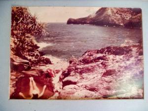 Audrey alone on Molokai, 1967