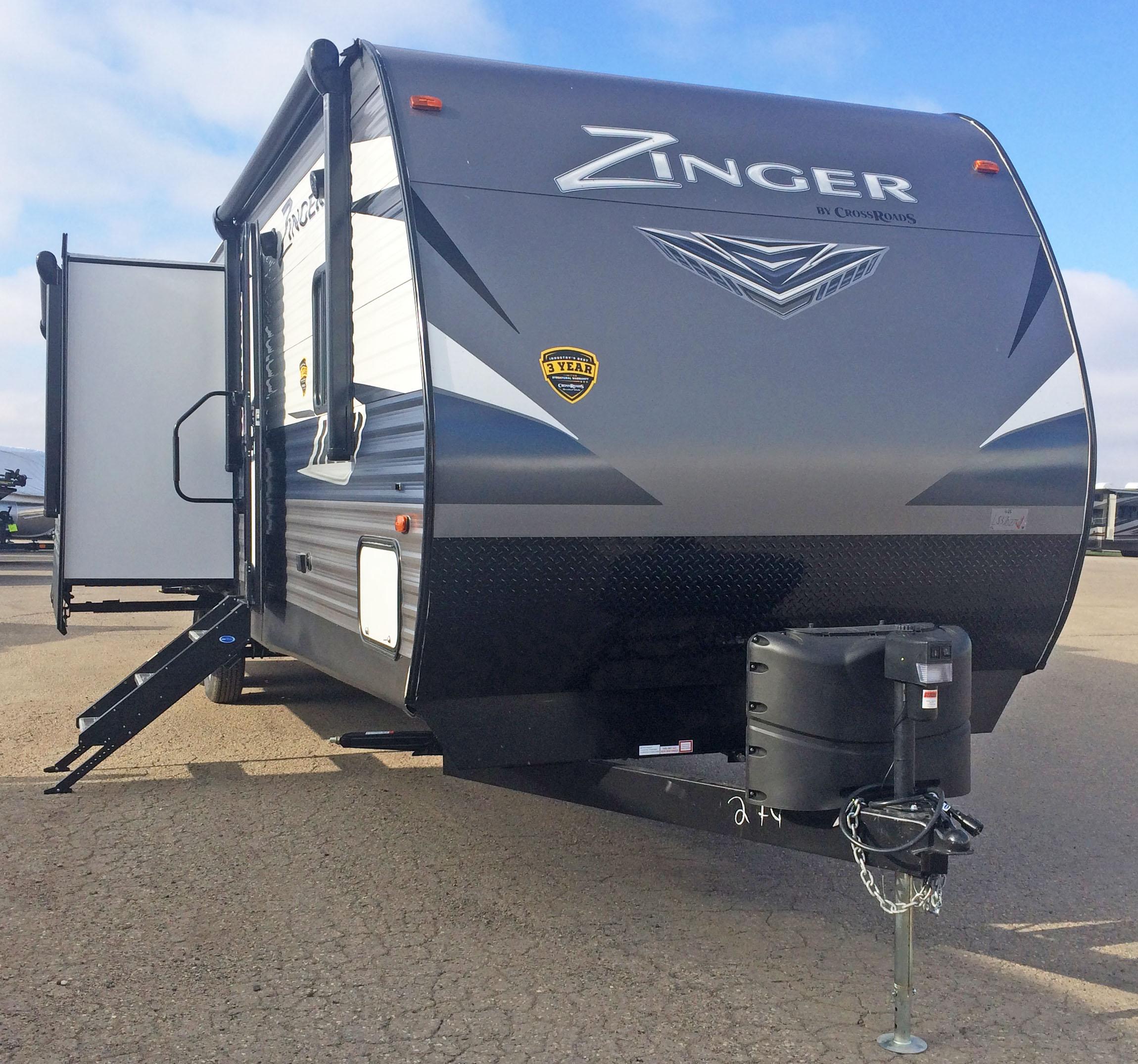 20TT3310 2020 Crossroads Zinger 333DB Price: $36.426 Minot ND - Swenson Marine & RV