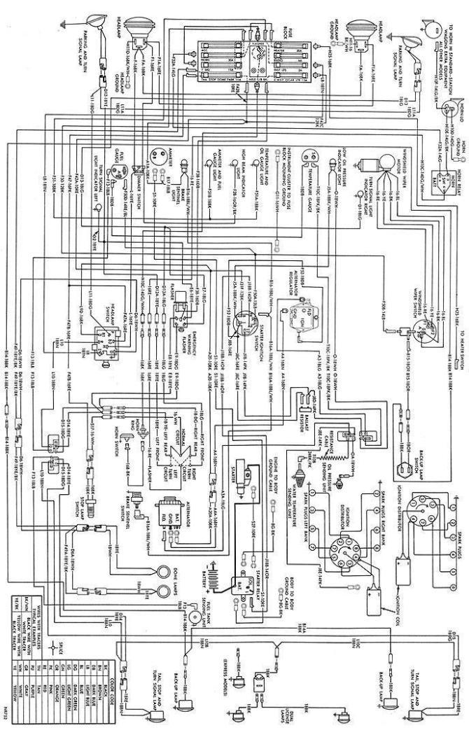1972 dodge truck wiring diagram  description wiring