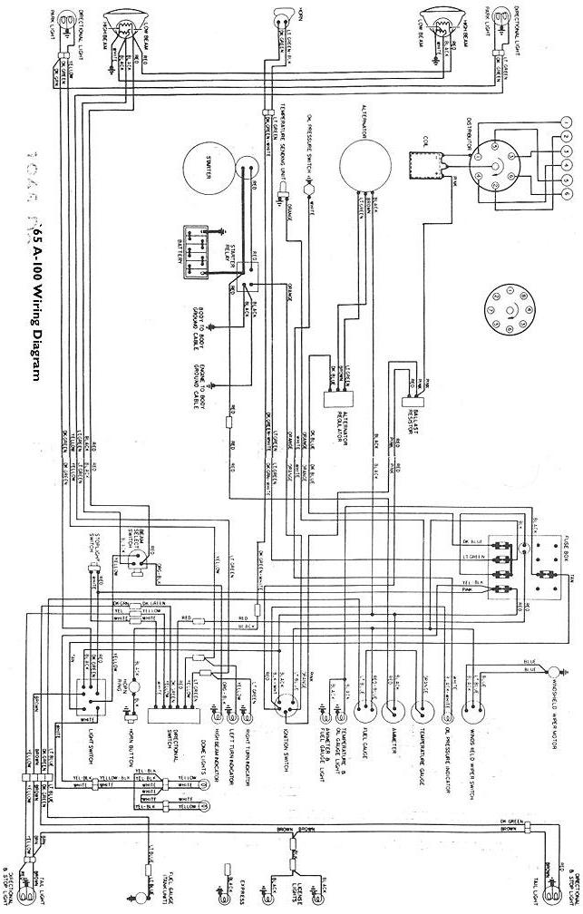 [DIAGRAM] 1960 Dodge D100 Wiring Harness Diagram FULL