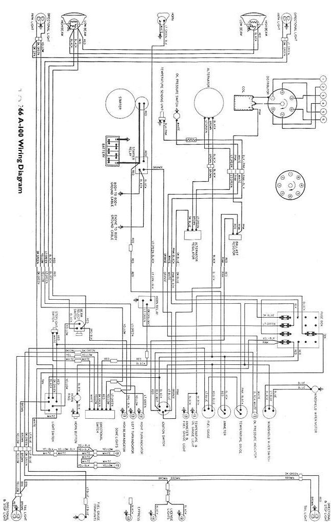 Wire Diagram Dodge D200. Dodge. Vehicle Wiring Diagrams