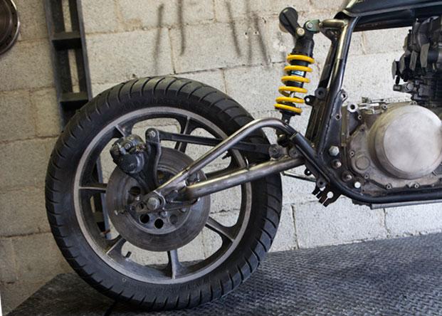 80 kz750 | mono-shock conversion | The Shop Blog | Swerve Customs