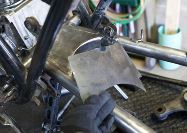 80 kz750 | mono-shock conversion | The Shop Blog | Swerve