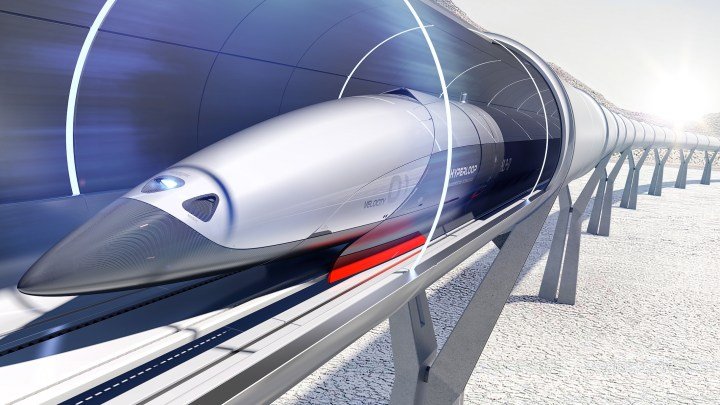 Novitá dal mondo : Hyperloop