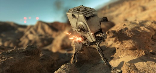 AT-ST on Tatooine in Skirmish.