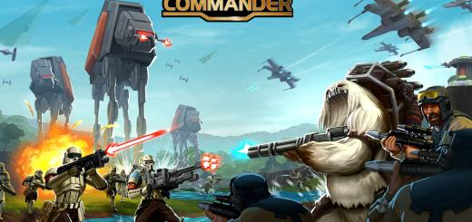 Key art for the Star Wars Commander Rogue One update.