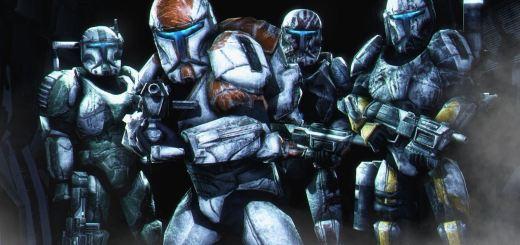 Delta Squad in Republic Commando.