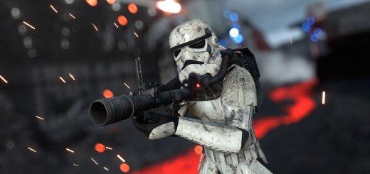 Stormtrooper on Sullust in Battlefront.
