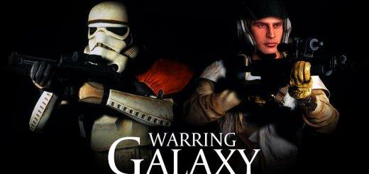 Warring Galaxy poster art.