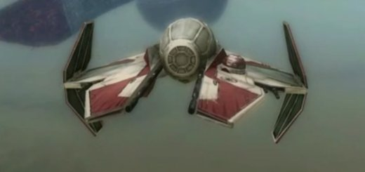 Space combat in Battlefront 3.
