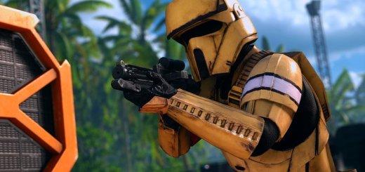 A shoretrooper in Battlefront. Image by Cinematic Captures.