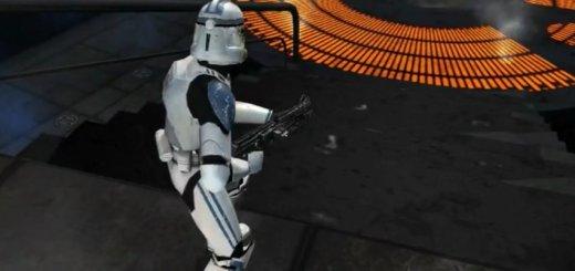 Battlefront II Bespin mod in Battlefront III: Legacy.