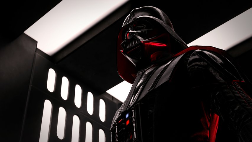Vader on the Death Star in Battlefront. By Cinematic Captures.