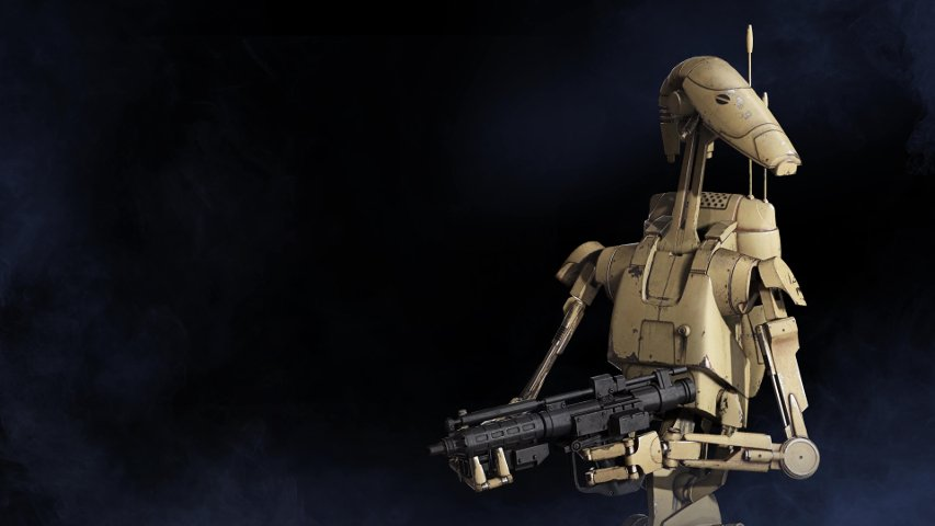Battle Droid from Battlefront II.