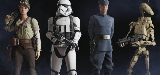 Example Battlefront II classes.