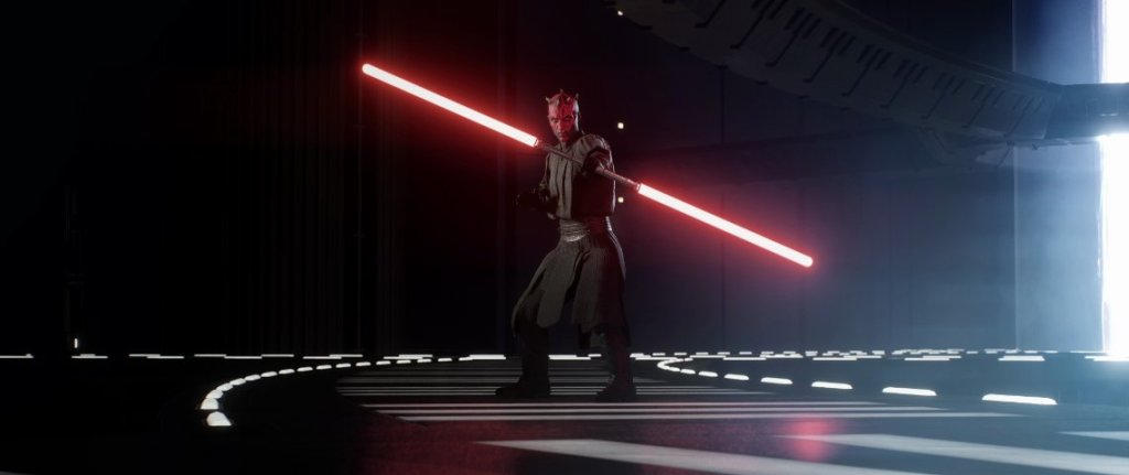 Darth Maul in the Battlefront II trailer.