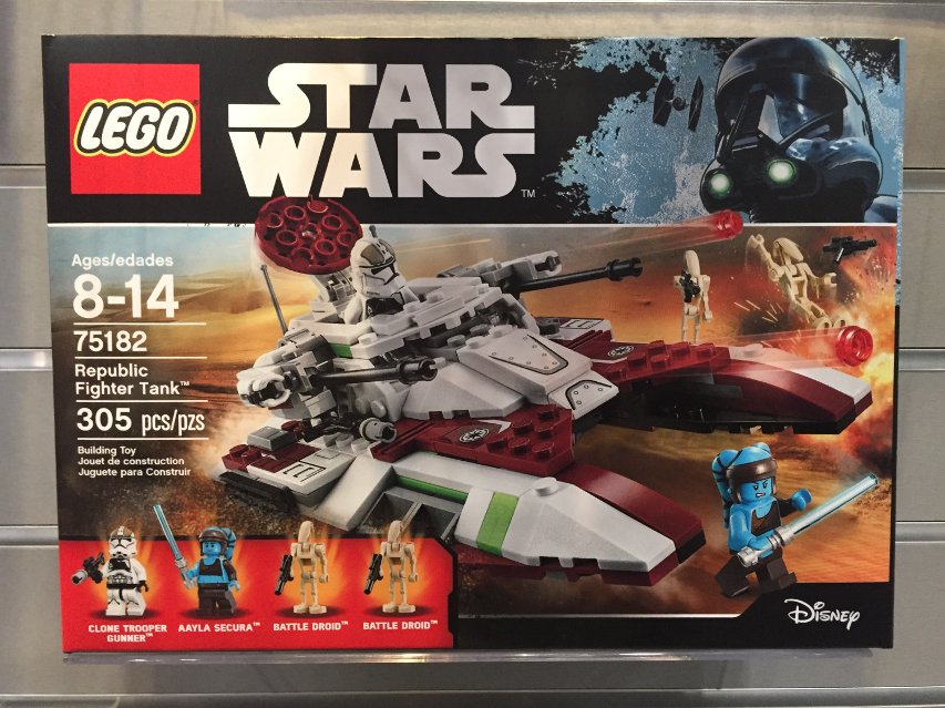 The LEGO Republic Fighter Tank.