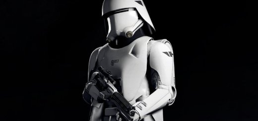 A First Order snowtrooper from Battlefront II.