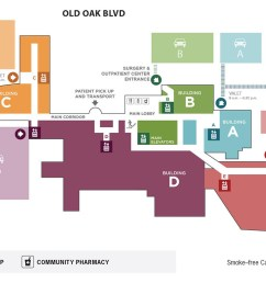 hospital map [ 1600 x 821 Pixel ]