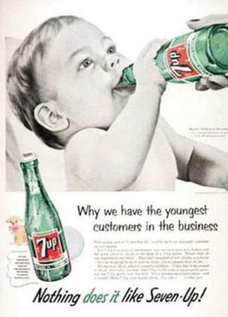 Globe times 7up Soda