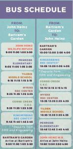 Globe Times Bus Schedule