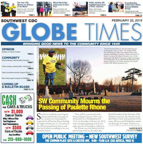 Globe Times February 22, 2019 issue