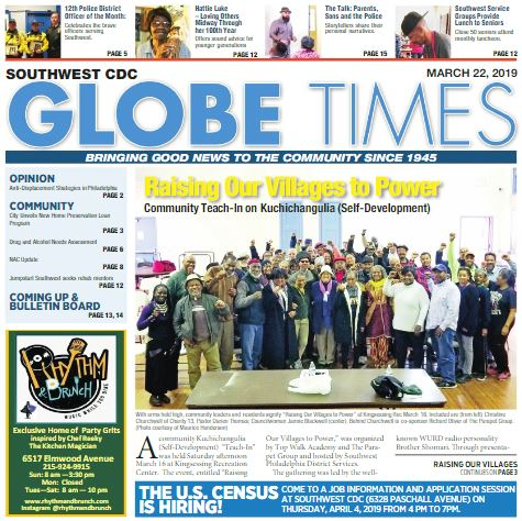 Globe Times March 22, 2019 issue