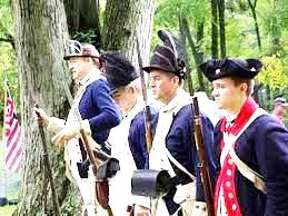 """Reenactment of French soldiers defending Ft. Mifflin and many other fascinating activities at """"The French at the Fort Mifflin"""" at the historic location Fort on Mifflin Road"""