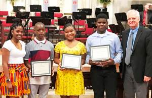 Globe Times Cornerstone Christian Academy Students scholarships