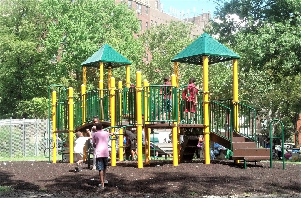 The playground next door to the Cobbs Creek Rec. Center will receive new lighting & cameras under a recent state grant. Additional equipment will make it add to the enjoyment of this popular location.