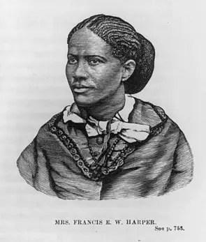 Frances Ellen Watkins Harper in 1872