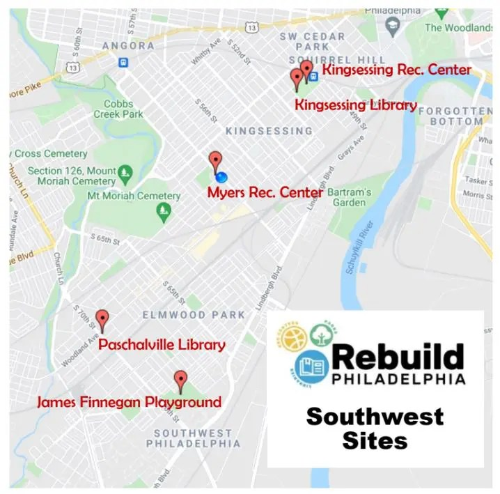 SW rebuild locations