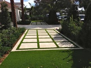 Grass Paver Strip Photos  Artificial Grass  Turf