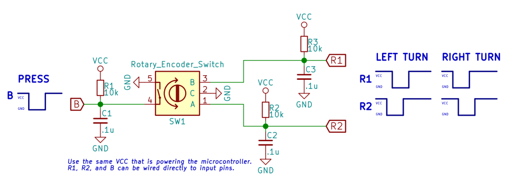medium resolution of avr rotary encoder circuit diagram wiring diagrams second 1 rotary encoder 3 pins 6