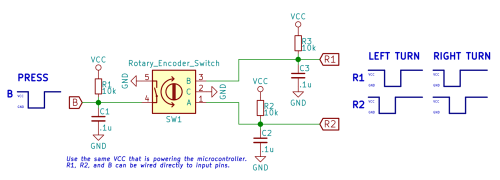 small resolution of avr rotary encoder circuit diagram wiring diagrams second 1 rotary encoder 3 pins 6