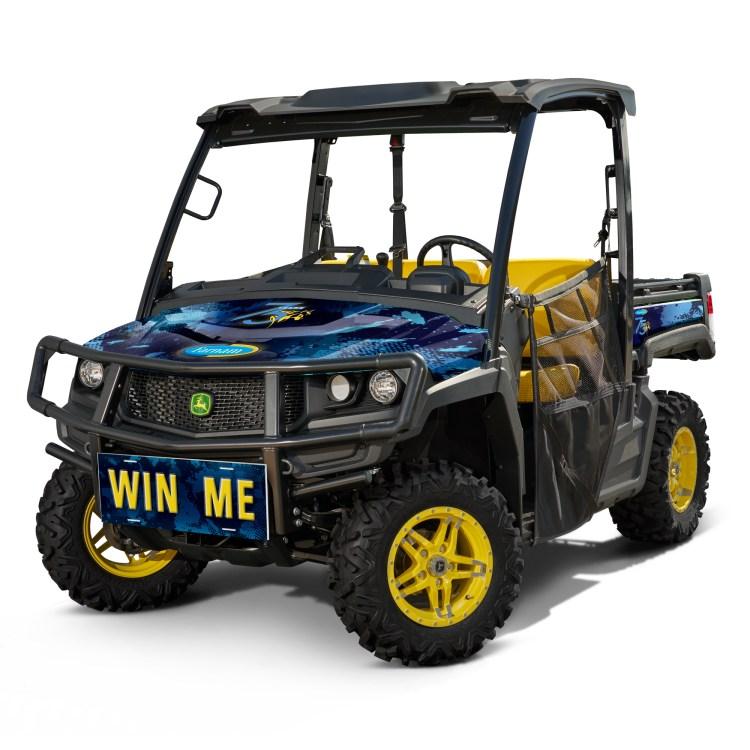 Grand Prize, a 2021 Farnam-branded John Deere® Gator® XUV835M
