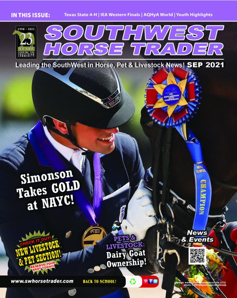 SouthWest Horse Trader September 2021 Issue