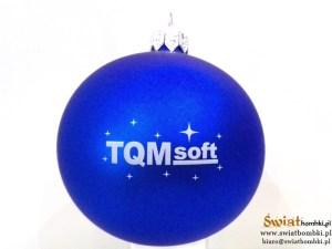 bombki reklamowe TQM soft z nadrukiem