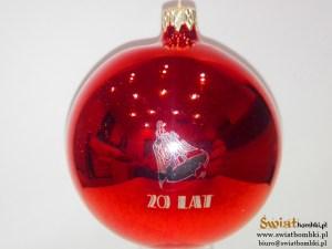 company balls 20 lat, red