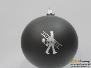 black advertising balls kominiarskie