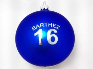 balls with logo barthez, blue